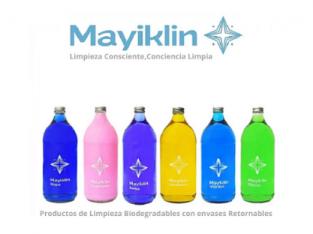 Mayiklin: Productos de Limpieza Biodegradables con envases Retornables.