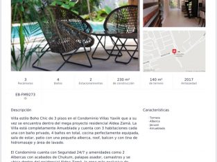 ARYA BR. REAL ESTATE villa en villas Yaxiik